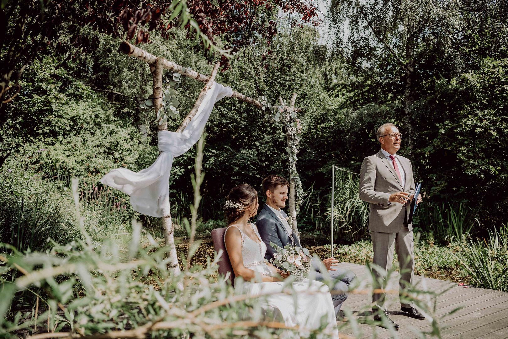 Hochzeit im Cafe Blätteteich in Oldenburg