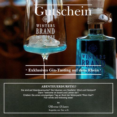 Exklusives Gin-Tasting auf dem Rhein