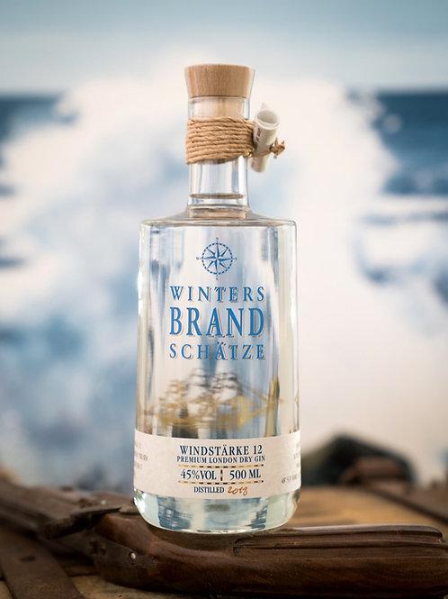 """Windstärke 12"" Premium London Dry Gin - 500ml"