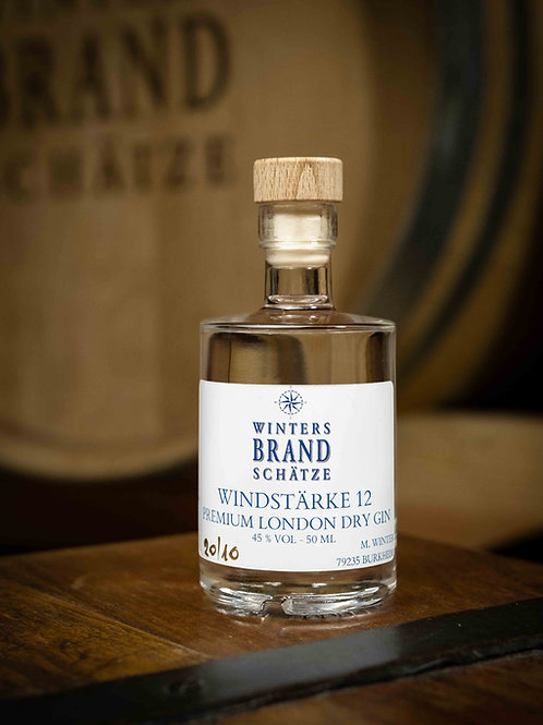 """Windstärke 12"" Premium London Dry Gin - 50ml"