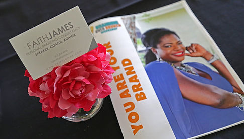 Faith James - Faith James - Fortune 500 personal brand influencer and brand strategist.  Personal Branding Coach for corporate executives, small business owners and entrepreneurs.