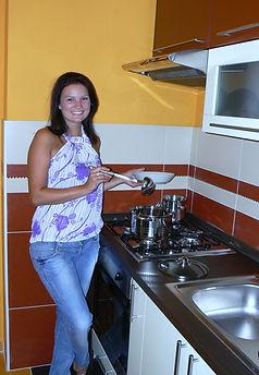 Kuchyna Apartman Hodrusa