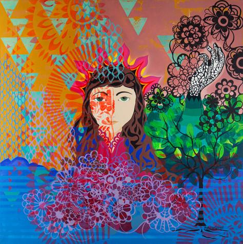 Fotografia de obra artística para a artista Patricia Gibrail