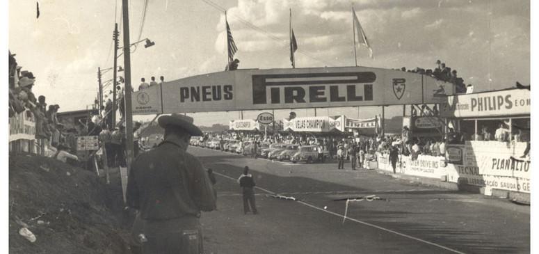 03 e 04 de junho de 1961 – 24 Horas de Interlagos – grid de largada