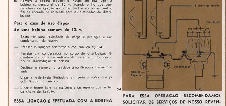 34 Ignicão transistorizada