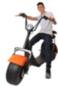 GooMove - Moto Elétrica Estilo Harley Davidson