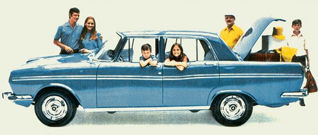 01 – Regente 1969, produzido pela Chrysler.