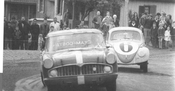 Prova 300 Quilômetros de Passo Fundo, RS, em 1968