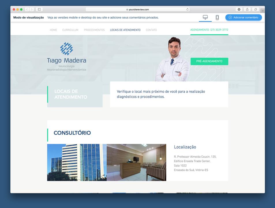 dr. Tiago Madeira
