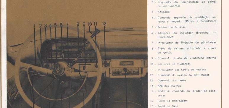 15 Painel de instrumentos e comandos