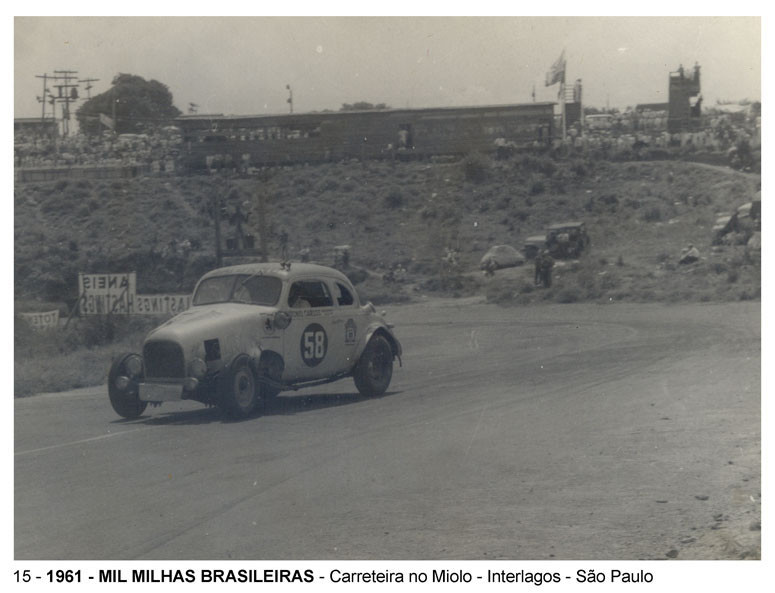 25 e 26 de novembro de 1961– Mil Milhas
