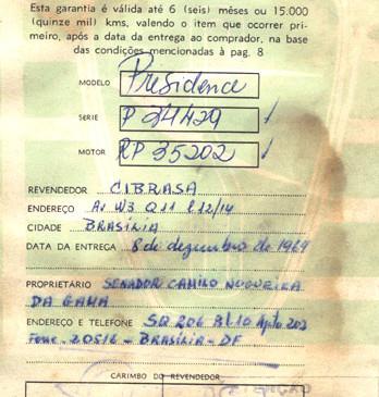03 – Certificado de Garantia