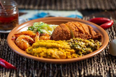 Foto de gastronomia realizada para o restaurante Quintal de Mãe