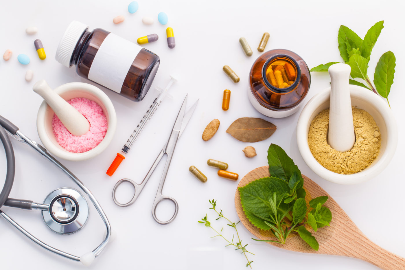 Herbs and Pills_Integrative Medicine
