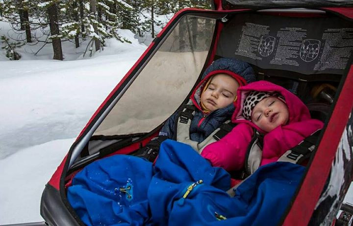 Winter wellness tip #1: Encourage sleep, two sleeping children