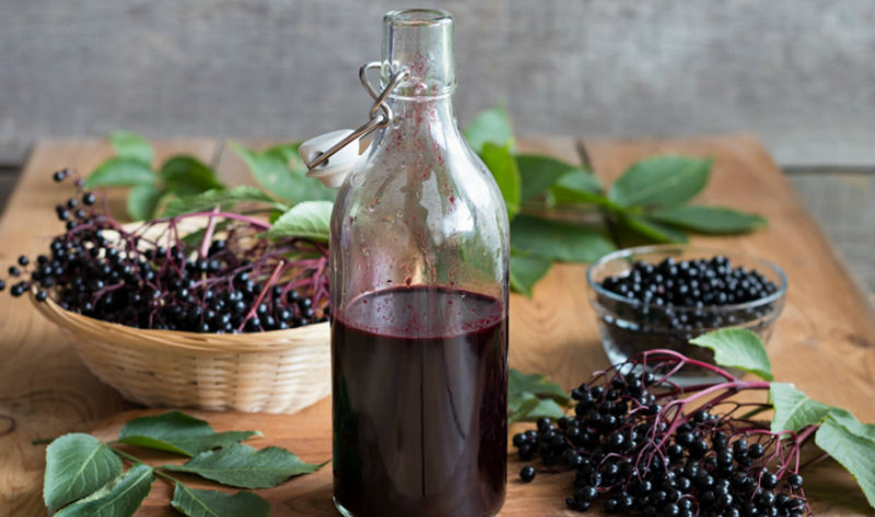 Elderberry syrup as a complementary treatment for upper respiratory symptoms