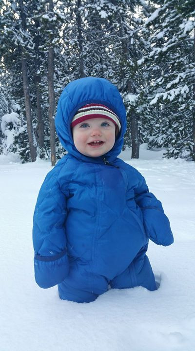 Winter Wellness Tip 13: Get Outside, child outside in winter