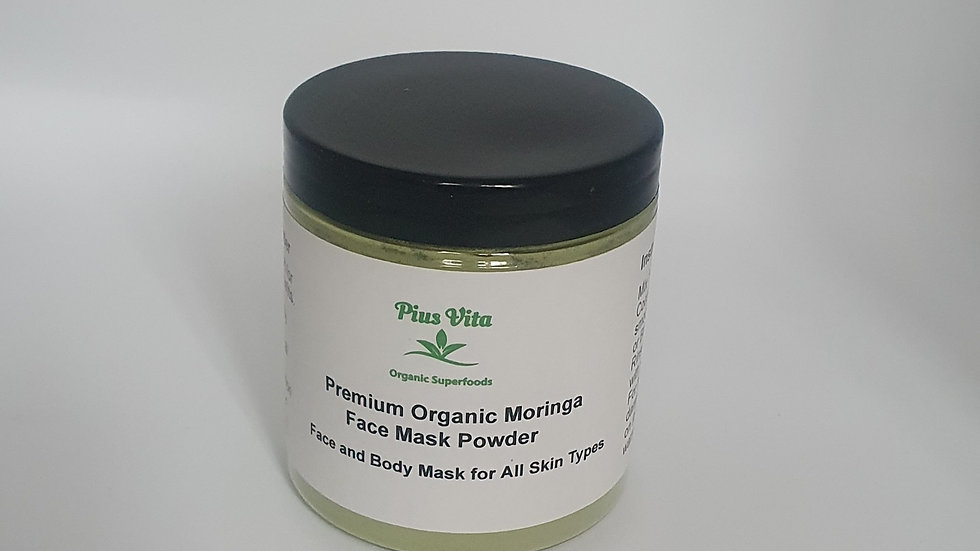 Organic Moringa Face Mask Powder