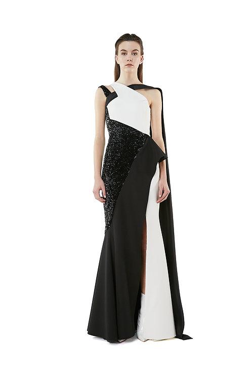 Mantella Silhouette Dress