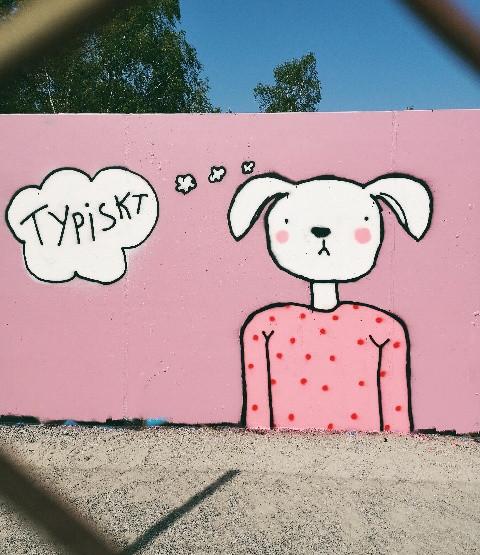 Måla på väggar
