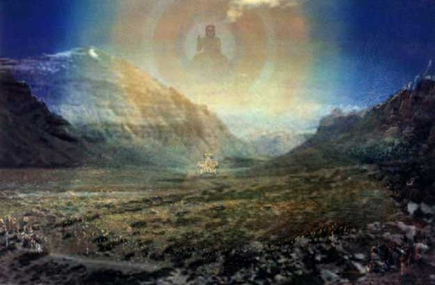 25 apr, sönd. Oxens fullmåne - Wesak och Buddhas ljus i världen!