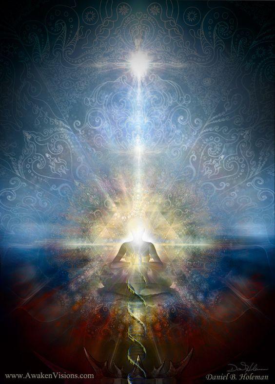 Den stora förändringen och hjärtats Ljusportal. Vägen in i det högre medvetandet och Den nya Jorden!