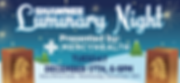 Shawnee Luminary Night - 108x50 - Banner