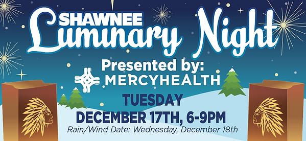 Shawnee Luminary Night - 108x50 - Banner