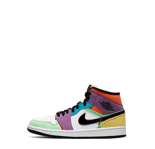 Nike Air Jordan 1 Mid Multicolor Lightbulb
