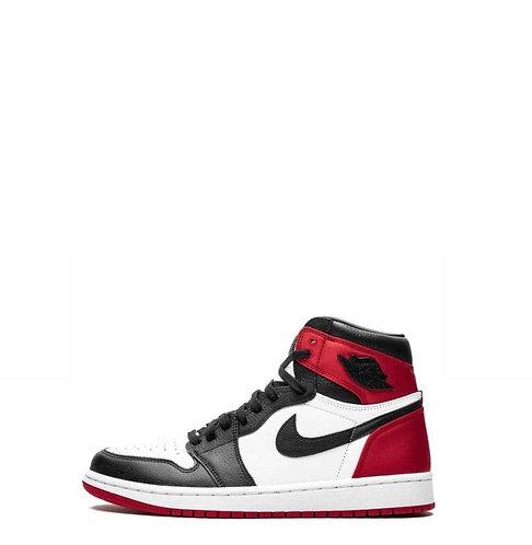 Nike Air Jordan 1 Retro Satin Black Toe