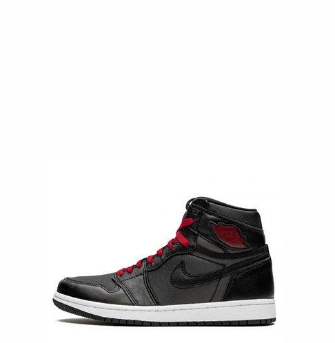 Nike Air Jordan 1 Retro  Black Satin