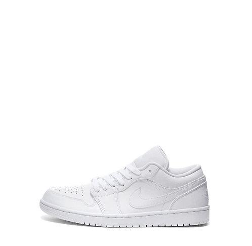 Nike Air Jordan 1 Triple White Low