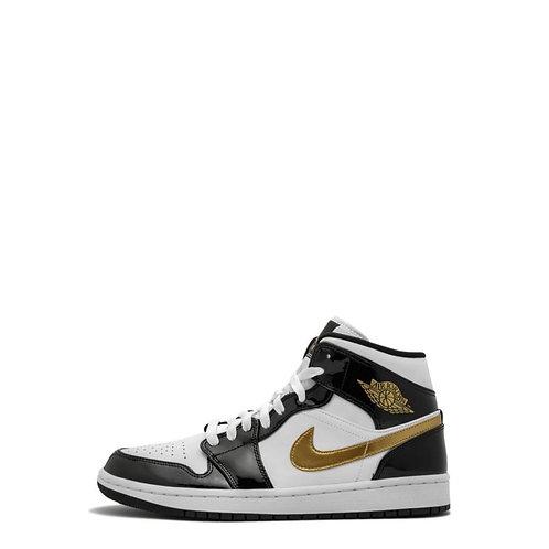 Nike Air Jordan 1 Mid SE Metallic Gold