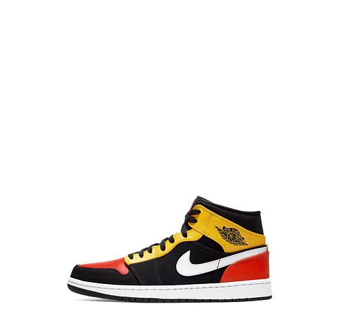 Nike Air Jordan 1 Mid Amarillo Orange