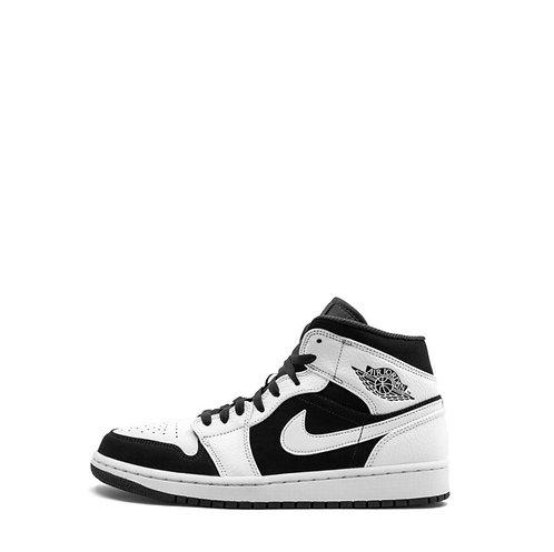 Nike Air Jordan 1 Mid 'Tuxedo'