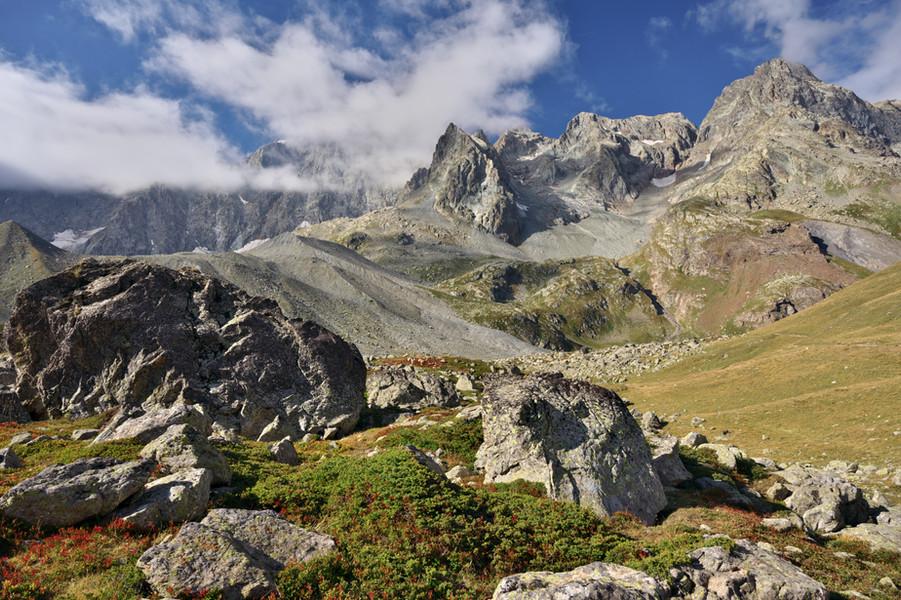 Montagne des Agneaux Shrouded in Cloud