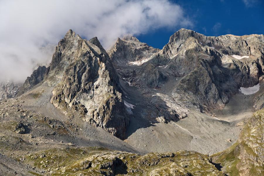 Pic d'Arsine (centre)
