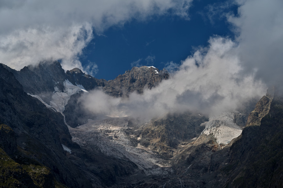 Peaks, Crags & Glaciers on the East Face of la Meije