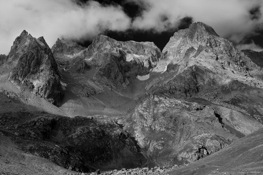 Peaks Above Col d'Arsine, Ecrins