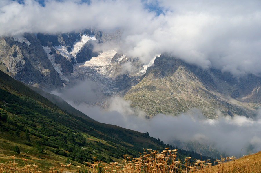 View from Col du Lautaret