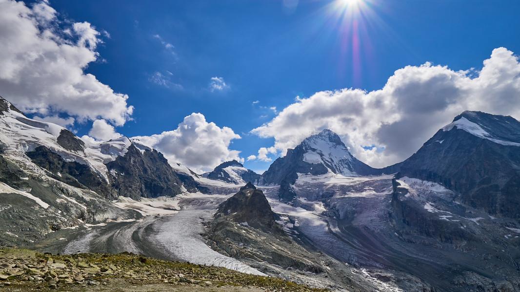 High Peaks Above Zinal