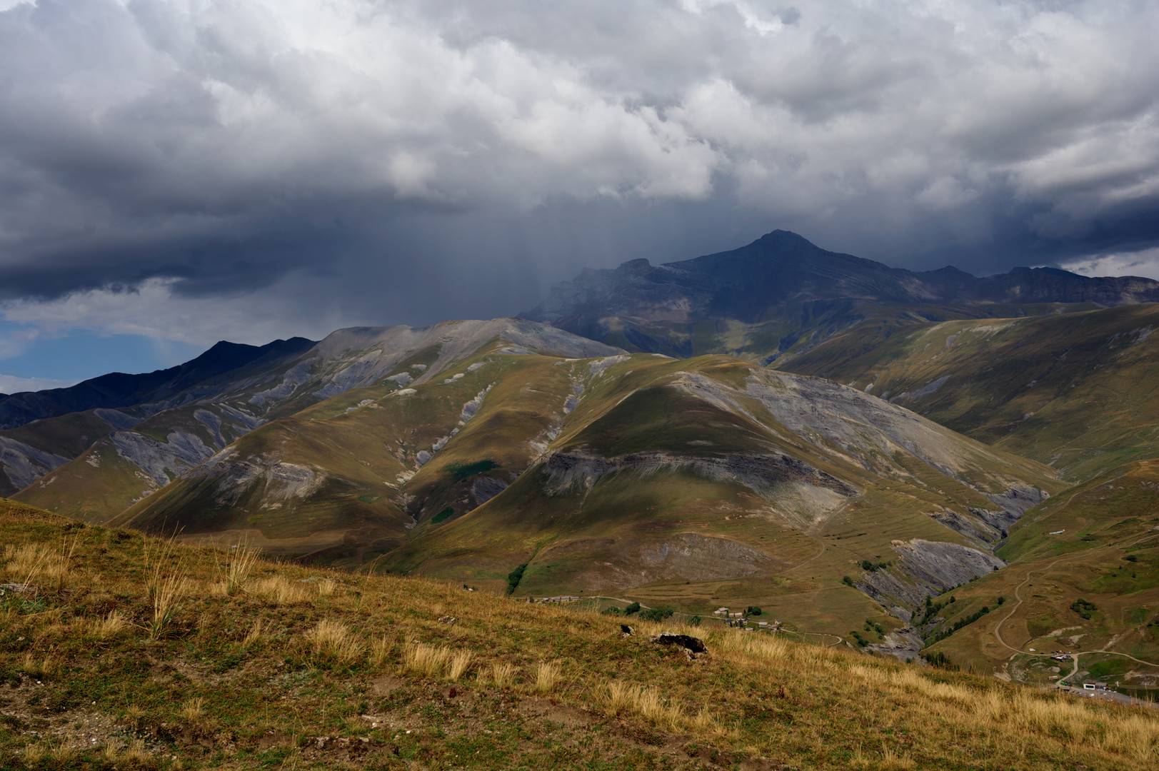 Storm over La Signal de la Grave