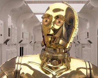 Робот-переводчик С-3PO из «Звездных войн»