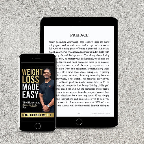Weight Loss Made Easy - Ebook
