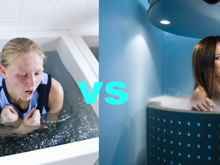 Ice Baths Vs. Cryotherapy