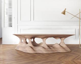 Topo Wood Table | 2019