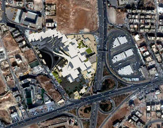 Hybrid City Civic Center | Aerial View