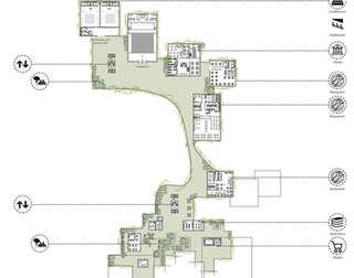 Hybrid City Civic Center | 2nd floor plan