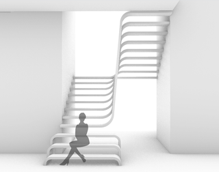 The Floating staircase   2019