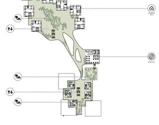 Hybrid City Civic Center | 5th floor plan